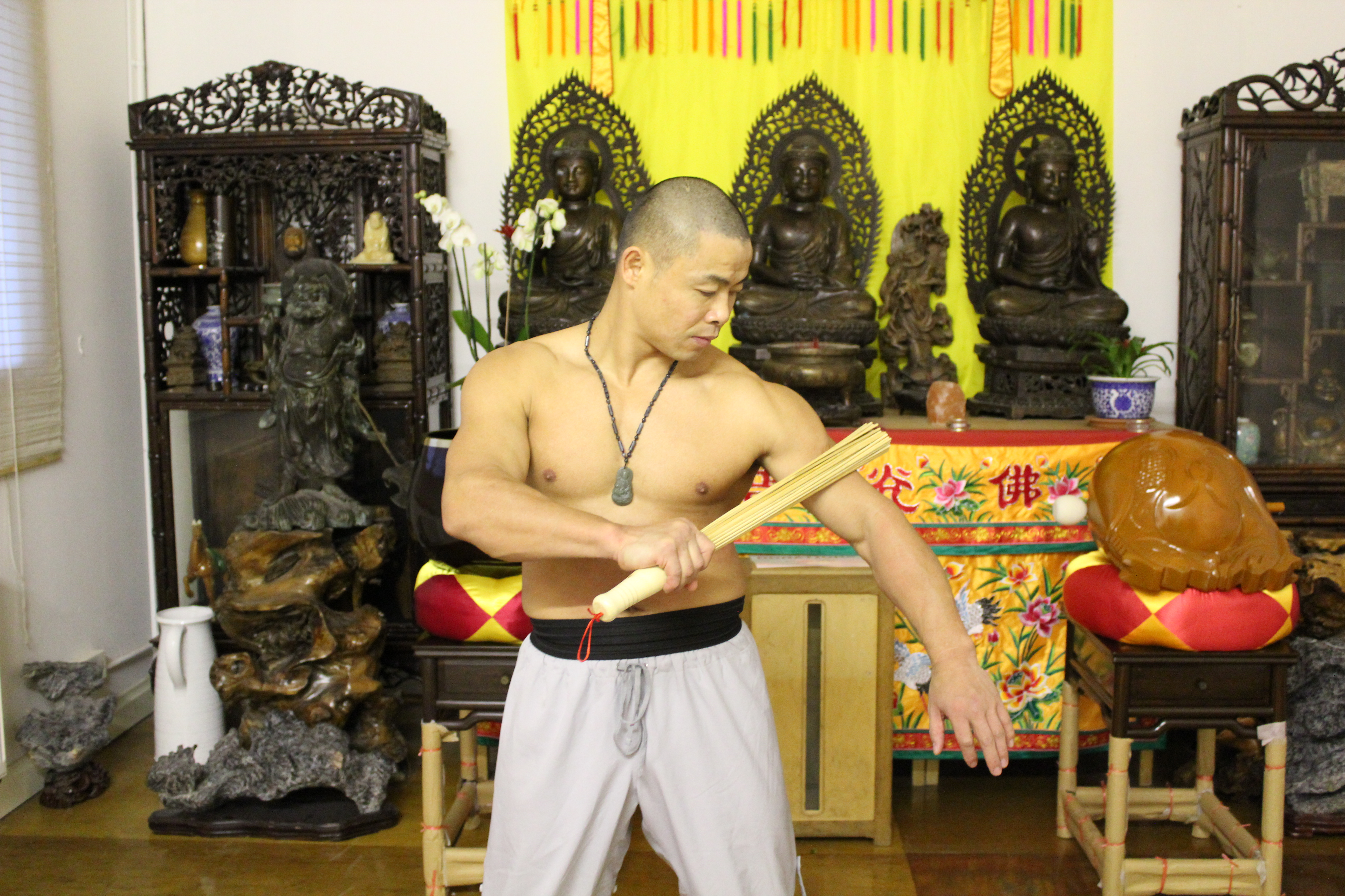 Watch How to train like a Shaolin Monk video